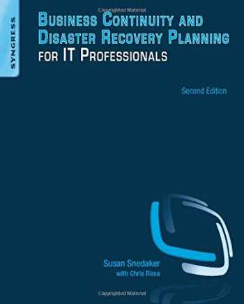 9780124105263-0124105262-Business Continuity and Disaster Recovery Planning for IT Professionals