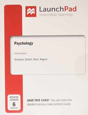 9781319058159-1319058159-LaunchPad for Psychology (Six Months Access)