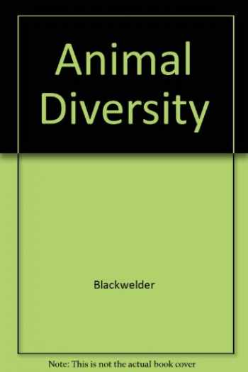 Hdbk Of Animal Diversity