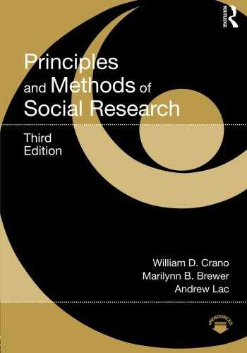 9780415638562-0415638569-Principles and Methods of Social Research