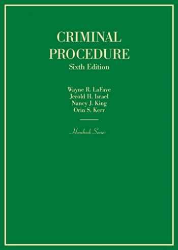 9781634603065-1634603060-Criminal Procedure (Hornbooks)