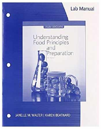 9781133607168-1133607160-Lab Manual for Brown's Understanding Food: Principles and Preparation, 5th