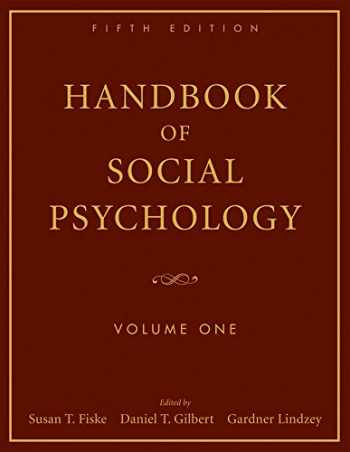 9780470137482-0470137487-Handbook of Social Psychology:  Volume One