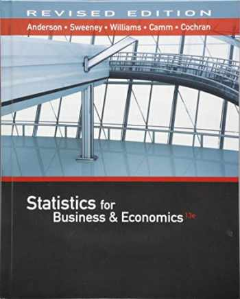 9781337094160-1337094161-Statistics for Business & Economics, Revised (with XLSTAT Education Edition Printed Access Card)