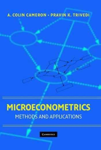 9780521848053-0521848059-Microeconometrics: Methods and Applications