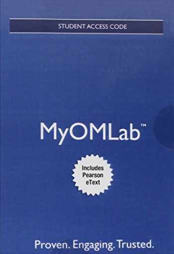 9780134184111-0134184114-MyOMLab Principles of operations management : Sustainability and supply chain management (Book & eText Access Card)