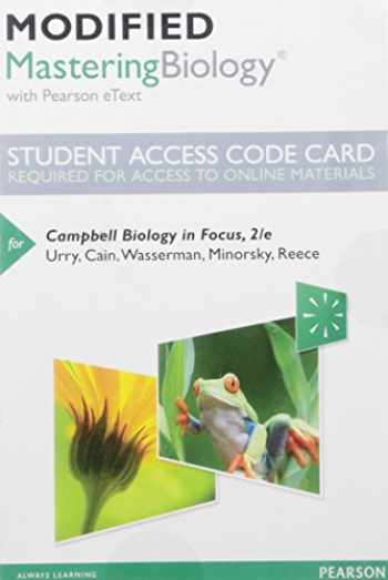 9780134250588-0134250583-Modified Mastering Biology with Pearson Etext -- Standalone Access Card -- For Campbell Biology in Focus