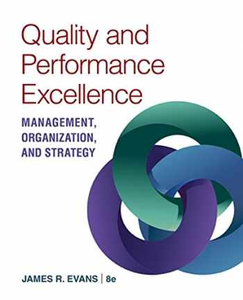 9781305662223-1305662229-Quality & Performance Excellence