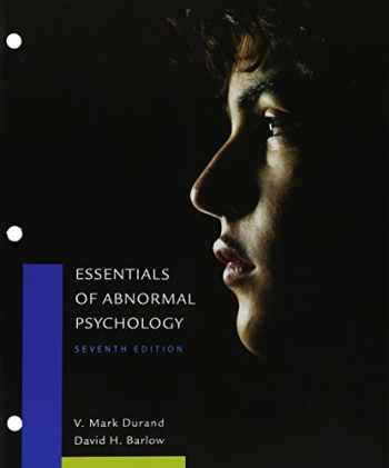 9781305698437-1305698436-Bundle: Essentials of Abnormal Psychology, Loose-Leaf Version, 7th + MindTap Psychology, 1 term (6 months) Printed Access Card