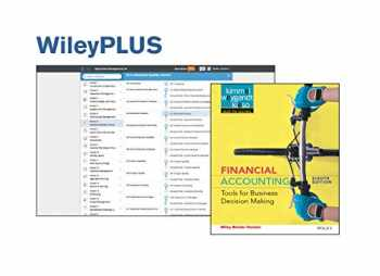 Financial Accounting: Tools for Business Decision Making, 8e Binder Ready Version + WileyPLUS Registration Card