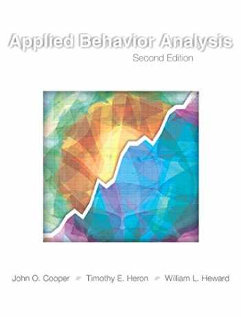9780131421134-0131421131-Applied Behavior Analysis (2nd Edition)