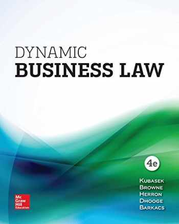 9781259723582-1259723585-LooseLeaf for Dynamic Business Law