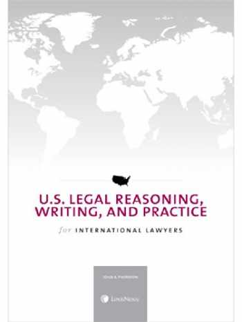 9780769856568-076985656X-U.S. Legal Reasoning, Writing, and Practice for International Lawyers (2014)