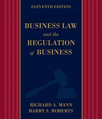 9781133587576-1133587577-Business Law and the Regulation of Business