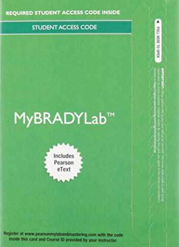 9780133946093-0133946096-MyBradylab with Pearson eText -- Access Card -- for Emergency Care (Limmer)