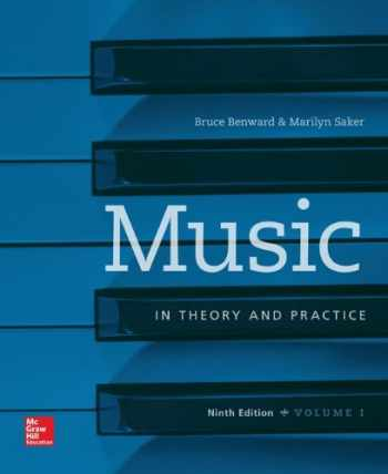 9781259675782-1259675785-Music in Theory and Practice, Vol. 1 with Workbook