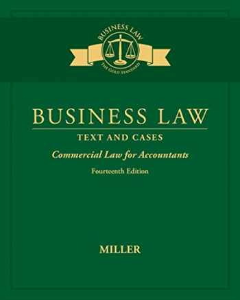 9781305967281-1305967283-Business Law: Text & Cases - Commercial Law for Accountants