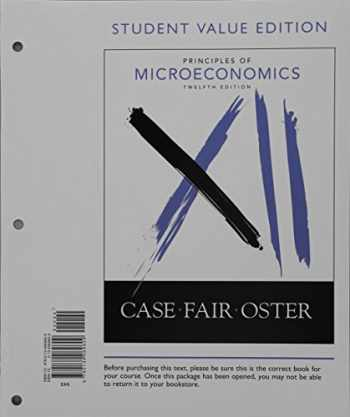 9780134069609-0134069609-Principles of Microeconomics, Student Value Edition (12th Edition)