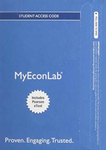 9780133862515-0133862518-MyEconLab with Pearson eText -- Access Card -- for The Economics of Money, Banking and Financial Markets