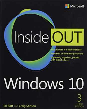 9781509307661-1509307664-Windows 10 Inside Out (3rd Edition)