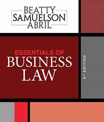 9781337404198-1337404195-Essentials of Business Law