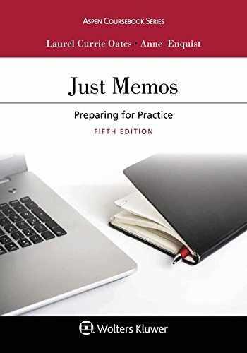 9781454894346-1454894342-Just Memos: Preparing for Practice (Aspen Coursebook)
