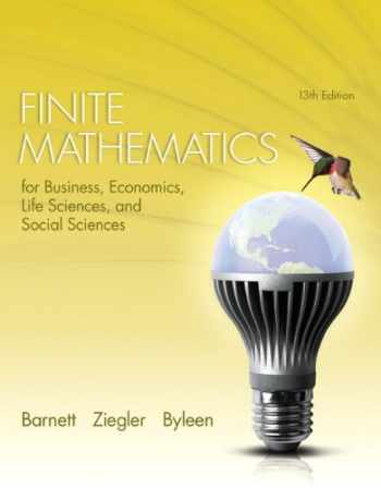 9780321947628-0321947622-Finite Mathematics for Business, Economics, Life Sciences and Social Sciences Plus NEW MyLab Math with Pearson eText -- Access Card Package (13th Edition)