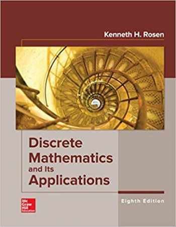 9781259676512-125967651X-DISCRETE MATH+ITS APPLICATIONS @DUE 7/18 @