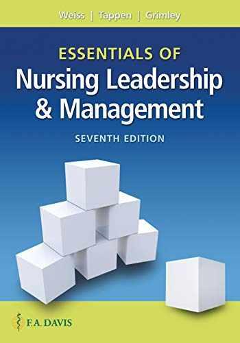 9780803669536-0803669534-Essentials of Nursing Leadership & Management