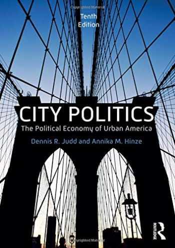 9781138055230-1138055239-City Politics: The Political Economy of Urban America