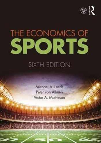 9781138052161-1138052167-The Economics of Sports