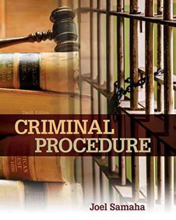 9781305969001-1305969006-Criminal Procedure