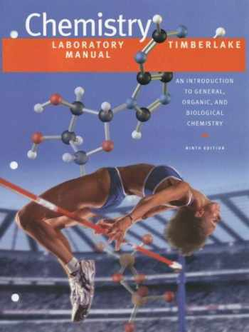 9780805330250-0805330259-Laboratory Manual for Chemistry: An Introduction to General, Organic, and Biological Chemistry