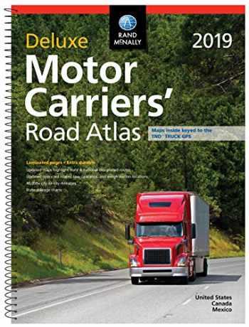 9780528019890-0528019899-Rand Mcnally 2019 Motor Carriers' Road Atlas: Dmcr (Rand McNally Motor Carriers' Road Atlas DELUXE EDITION)