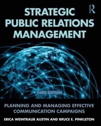9780415517690-0415517699-Strategic Public Relations Management: Planning and Managing Effective Communication Campaigns (Routledge Communication Series)
