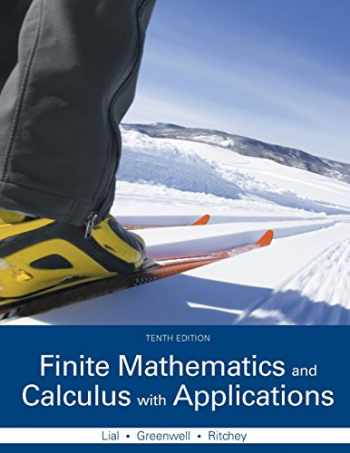 9780321979407-0321979400-Finite Mathematics and Calculus with Applications (10th Edition)