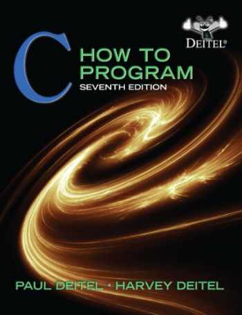 9780132990448-013299044X-C: How to Program, 7th Edition