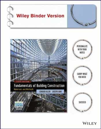 9781118820193-1118820193-Fundamentals of Building Construction: Materials and Methods with Interactive Resource Center Access Card, 6th Edition Binder Ready Version