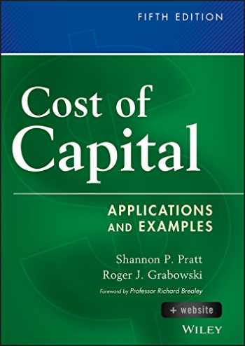 9781118555804-1118555805-Cost of Capital, + Website: Applications and Examples (Wiley Finance)