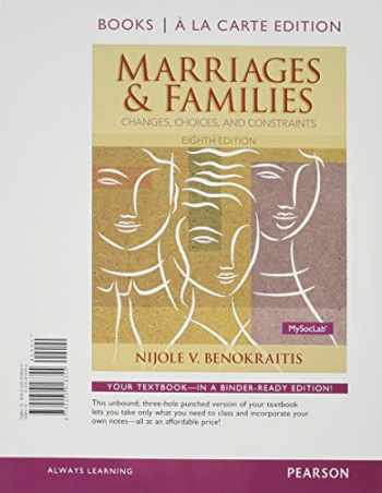 9780205918355-0205918352-Marriages and Families, Books a la Carte Edition (8th Edition)