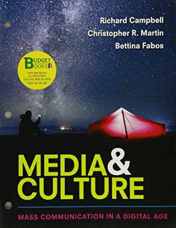 9781319068295-1319068294-Loose-Leaf Version for Media & Culture: An Introduction to Mass Communication