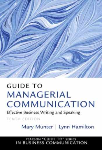 9780132971331-013297133X-Guide to Managerial Communication (10th Edition)