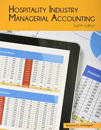 9780866124973-0866124977-Hospitality Industry Managerial Accounting