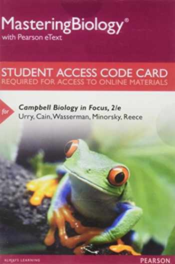 9780134143729-0134143728-MasteringBiology with Pearson eText -- Standalone Access Card -- for Campbell Biology in Focus (2nd Edition)