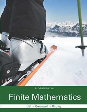 9780321979438-0321979435-Finite Mathematics (11th Edition)