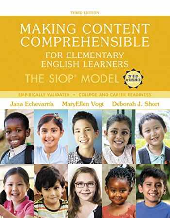 9780134550121-0134550129-Making Content Comprehensible for Elementary English Learners: The SIOP Model, with Enhanced Pearson eText -- Access Card Package (3rd Edition) (SIOP Series)