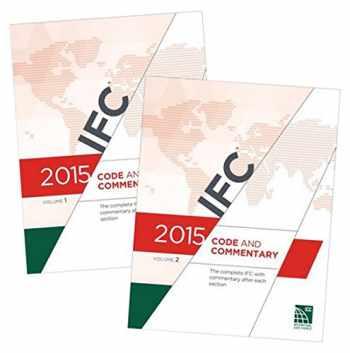 9781609832865-1609832868-2015 International Fire Code Commentary[2 VOLUME SET]