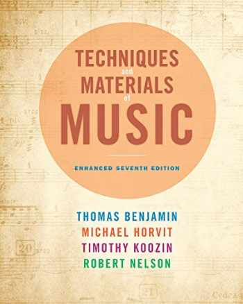 9781285446172-1285446178-Techniques and Materials of Music: From the Common Practice Period Through the Twentieth Century, Enhanced Edition (with Premium Website Printed Access Card)