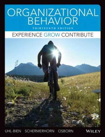 9781118517376-1118517377-Organizational Behavior, Binder Ready Version
