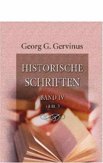 Historische Schriften